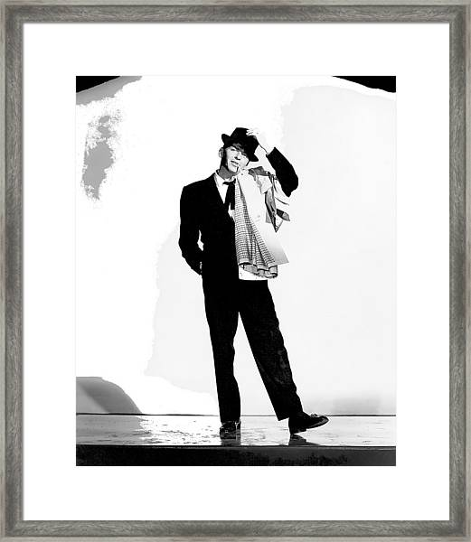 Frank Sinatra Pal Joey Set 1 1957-2015 Framed Print