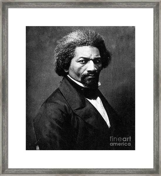 Frederick Douglass Framed Print