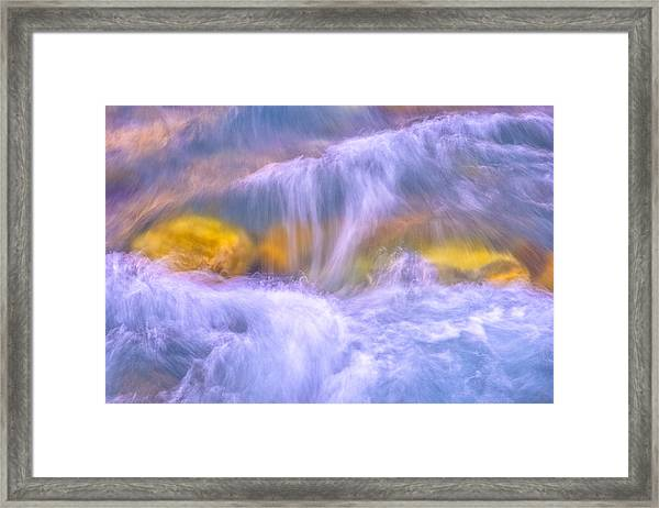 Gavarnie Torrent Framed Print
