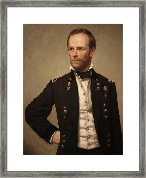 General William Tecumseh Sherman Framed Print