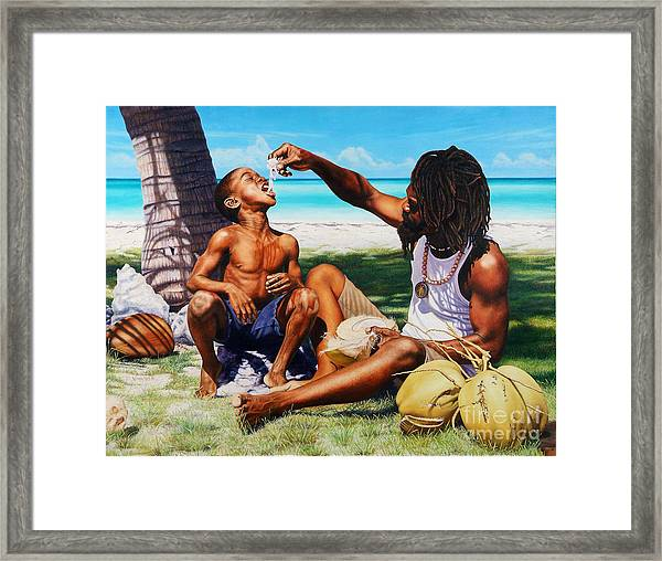 Generations Caring Sharing Framed Print