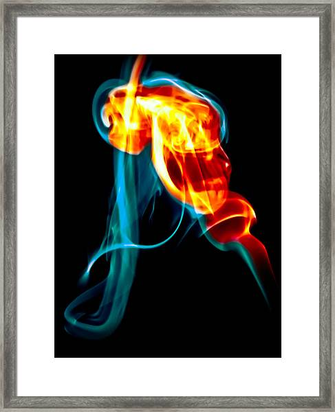 Ghost 11 Framed Print