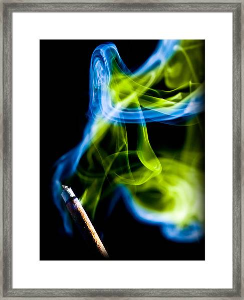 Ghost 15 Framed Print