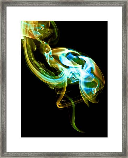 Ghost 3 Framed Print
