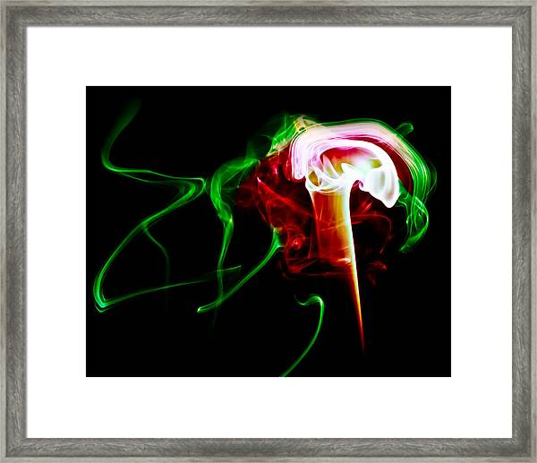 Ghost 4 Framed Print