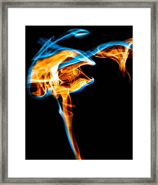 Ghost 5 Framed Print