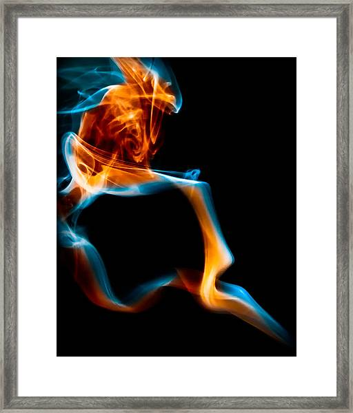 Ghost 6 Framed Print