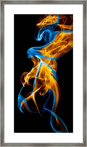 Ghost 7 Framed Print