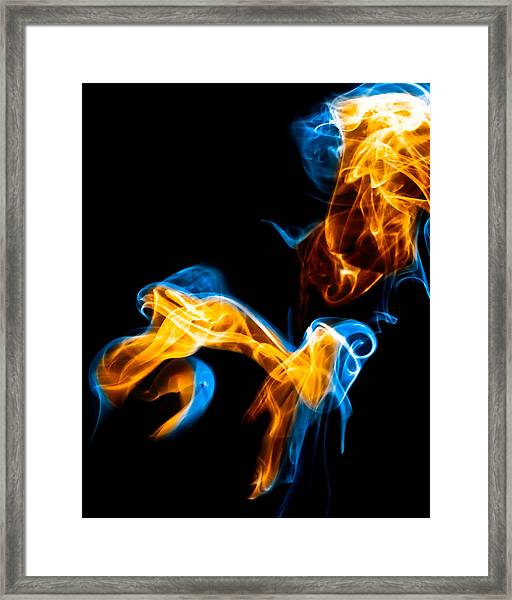 Ghost 9 Framed Print
