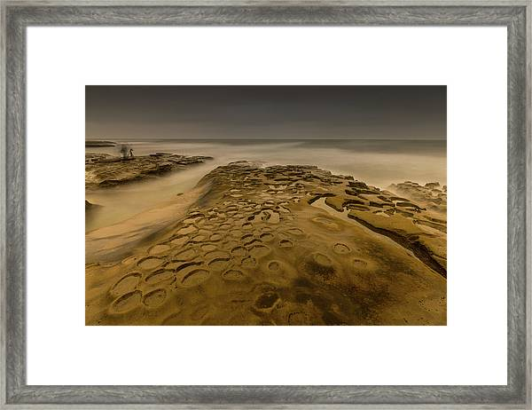 Ghost Photographer Framed Print