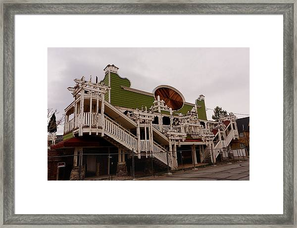 Ghostcasino Framed Print