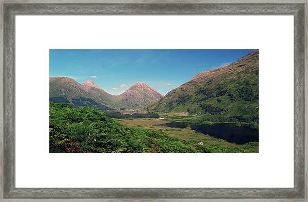 Glen Etive Framed Print by Steve Watson