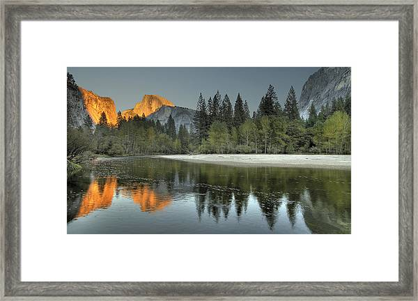 Glorious Glow Framed Print
