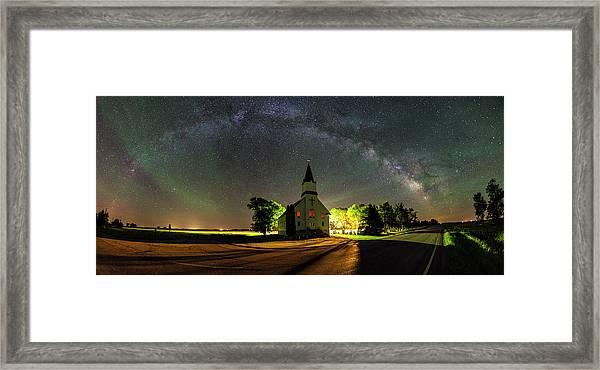Glorious Night Framed Print