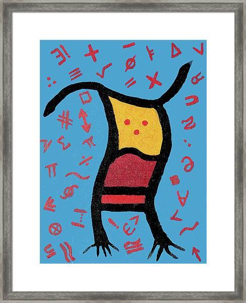 Go Figure Framed Print