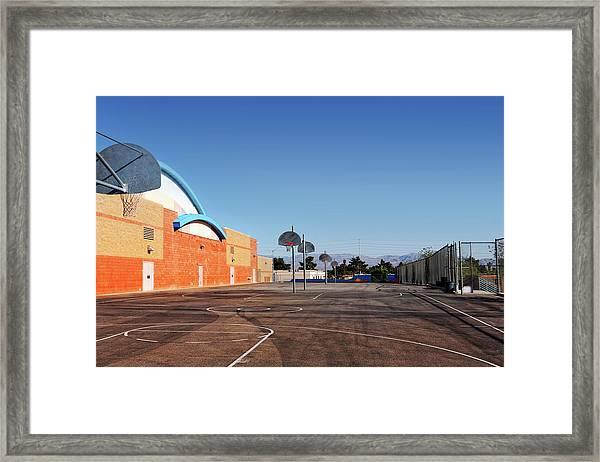 Goals In Perspectives Framed Print