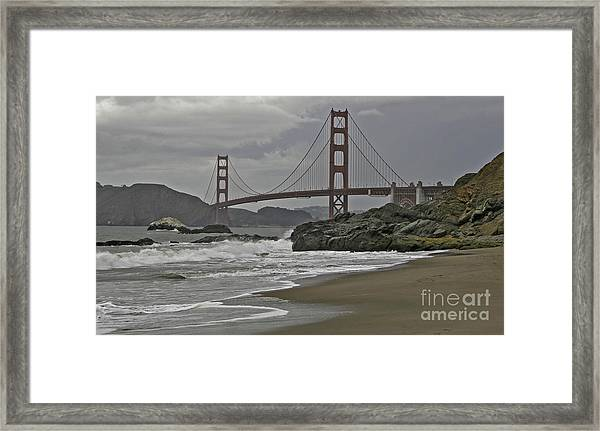 Golden Gate Study #1 Framed Print