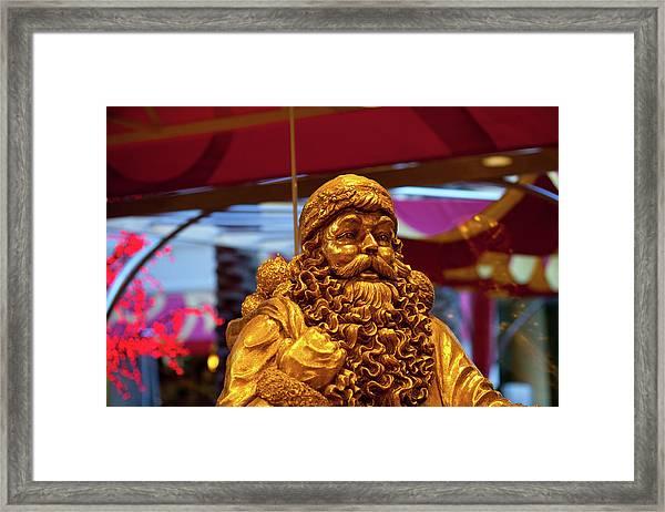 Golden Idol Framed Print