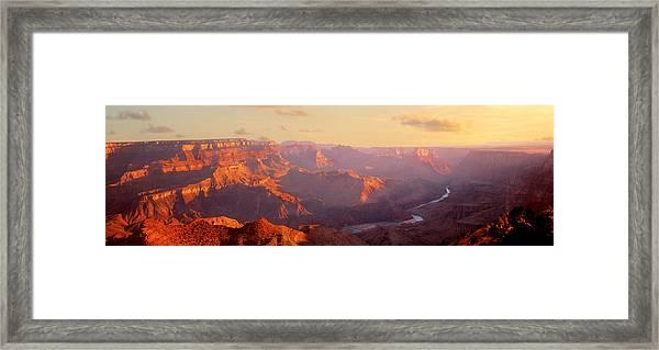 Grand Canyon, Arizona, Usa Framed Print