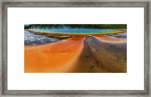 Grand Prismatic Framed Print