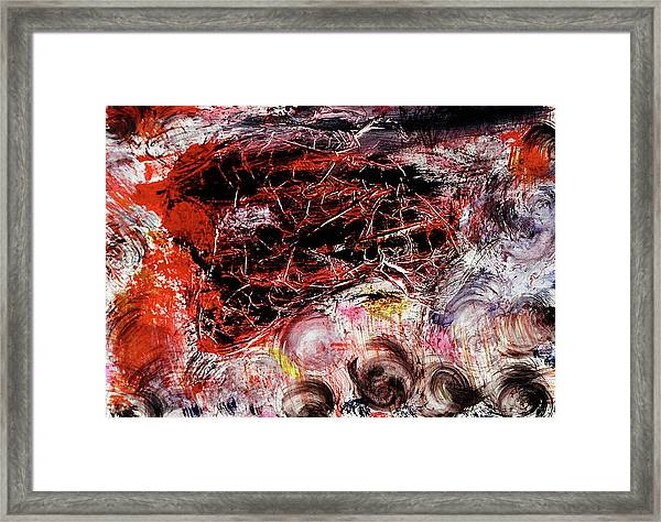 Framed Print featuring the painting Harmony by Michael Lucarelli