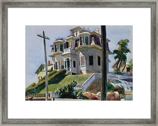 Haskell's House Framed Print