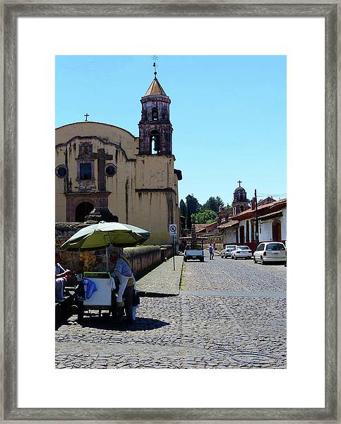 Historic Patzcuaro Framed Print
