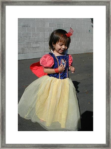 Holloween Princess Framed Print by Mark Stevenson