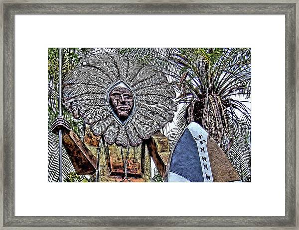 Honolulu Zoo Keeper II Framed Print