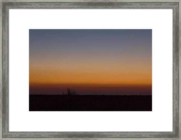 Howie Idaho Sunrise Framed Print by John Higby