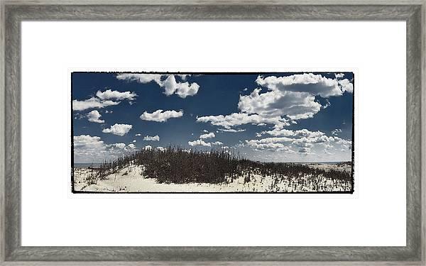 Hunting Island Beach Framed Print by Robert Fawcett