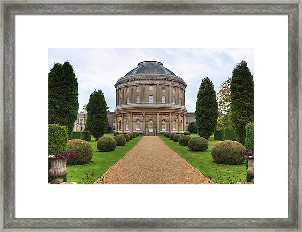 Ickworth House - England Framed Print