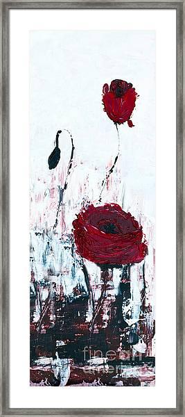 Impressionist Floral B8516 Framed Print