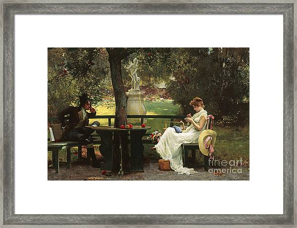 In Love Framed Print