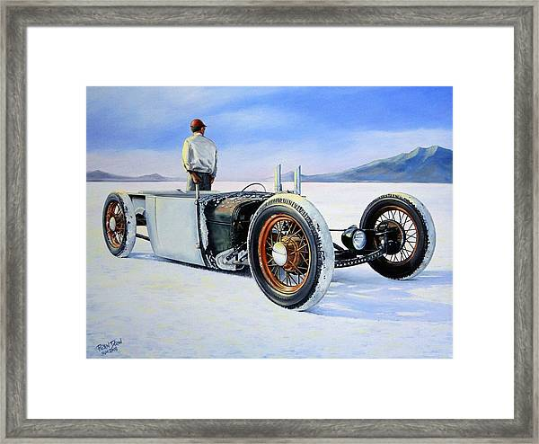 In The Land Of The Relic Framed Print