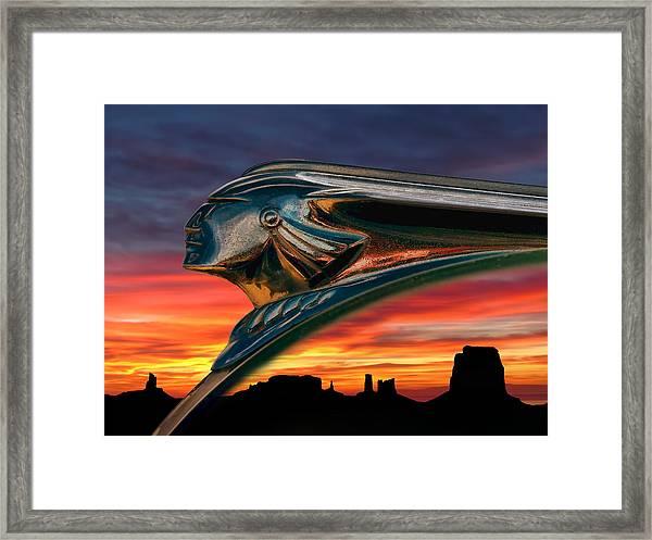 Indian Rainbow Framed Print