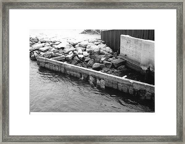 Inlet Framed Print by Eric Barich