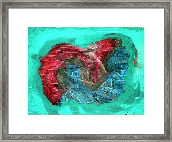 Inner Turmoil  Framed Print
