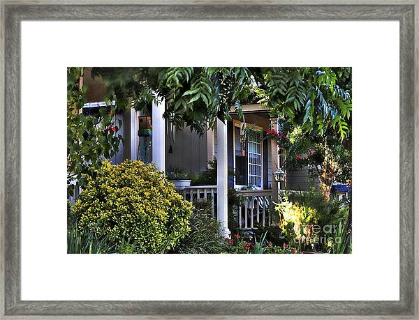 Inviting Places Framed Print