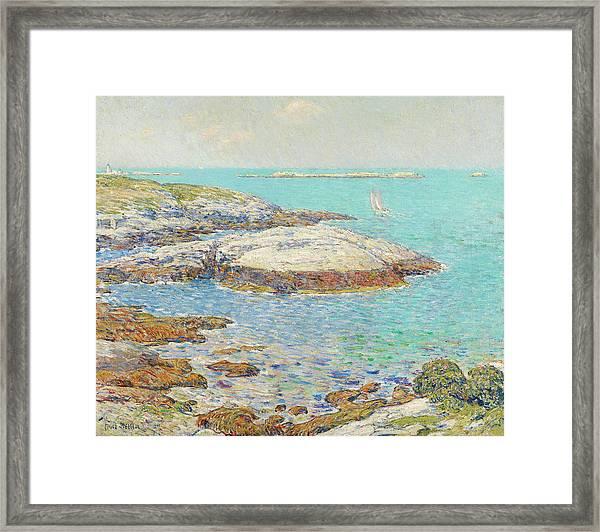 Isles Of Shoals Framed Print