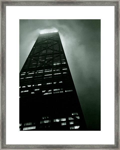 John Hancock Building - Chicago Illinois Framed Print