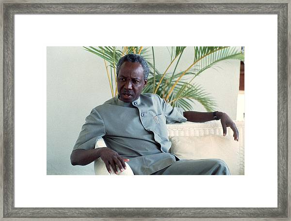 Julius Nyerere Framed Print by Erik Falkensteen