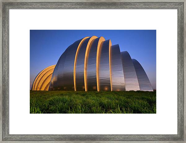 Kauffman Center Framed Print