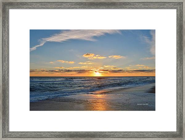 Kill Devil Hills Sunrise Framed Print