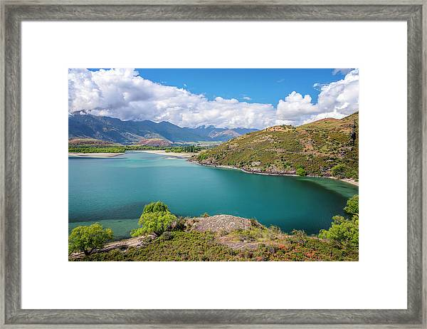 Lake Wanaka New Zealand IIi Framed Print