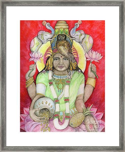 Lakshmi Framed Print