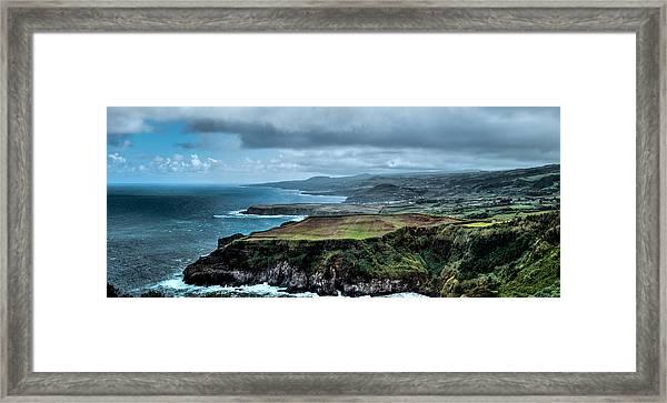 Landscapespanoramas Framed Print