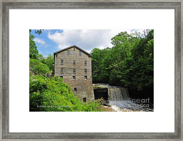D9e-28 Lantermans Mill Photo Framed Print