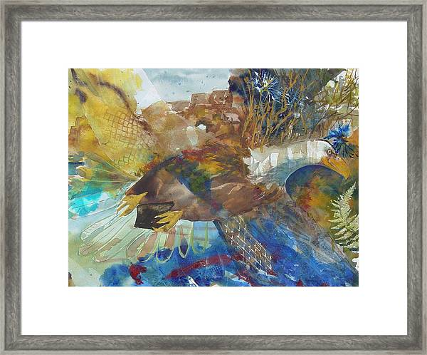 Let Freedom Ring Framed Print by Kris Dixon