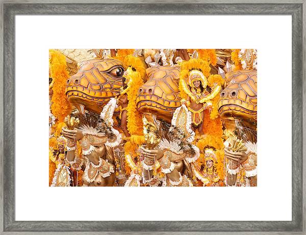 Lets Samba Framed Print